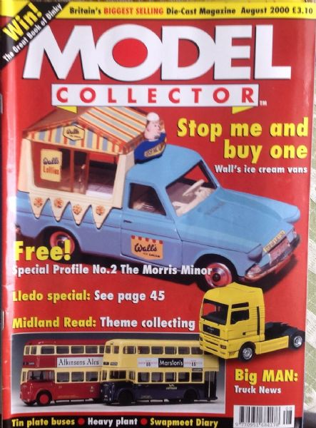 ORIGINAL MODEL COLLECTOR MAGAZINE August 2000